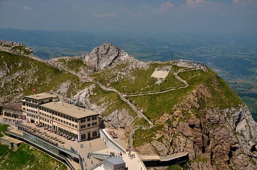 View from Mt. Pilatus Esel summit