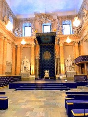 Stockholm Royal Palace. Throne Room (dimaruss34) Tags: newyork brooklyn dmitriyfomenko image sweden stockholm svetlanafomenko royalpalace throne throneroom
