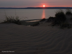 Dune Sunrise (JamesEyeViewPhotography) Tags: summer greatlakes lake michigan water beach sky landscape northernmichigan morning sunrise clouds sand dunes sleepingbeardunes nationallakeshore jameseyeviewphotography