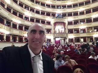 24/09/17 - mia nipote Anna-Doris Capitelli, cantante lirica, al Teatro alla Scala di Milano
