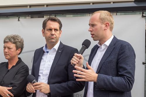 Diskussion am Lefferseck mit unserem niedersächsischen Minister für Wirtschaft, Arbeit und Verkehr, Olaf Lies.
