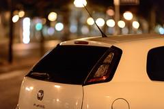 PNF 03_007301 (Darkly B) Tags: night street notte strada nightonearth fiat punto photography streetphotography bokeh