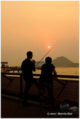 Sunset Kennedy Town 堅尼地城日落 - Hong Kong XT4888e (Harris Hui (in search of light)) Tags: harrishui fujixt1 digitalmirrorlesscamera fuji fujifilm vancouver richmond bc canada vancouverdslrshooter mirrorless fujixambassador xt1 fujixcamera fujixseries fujix fuji35mmf2 fujiprimelens fixedlens sunset kennedytown fishing westpoint waterfront silhouettes