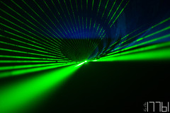 L A S E R 1 (17761) Tags: laser light dark abstract green lasershow lightschow unedited sooc beuth