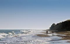 sea life (photoksenia) Tags: ilce7m2 sony seafront coast water sand beach sea people waves