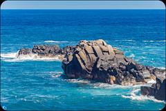 To the infinite (bffpicturesworld) Tags: lanscape wow blue ocean beautiful wild rock water infinite reunionisland iledelareunion amazing bestplace peace