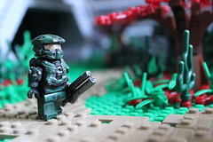 Halo 4 - Exploring Requiem (TRLegosfan) Tags: halo 4 lego master chief requiem