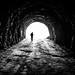 Exploring - Vidraru, Romania - Black and white street photography