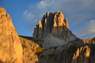 The Dolomites at sunrise
