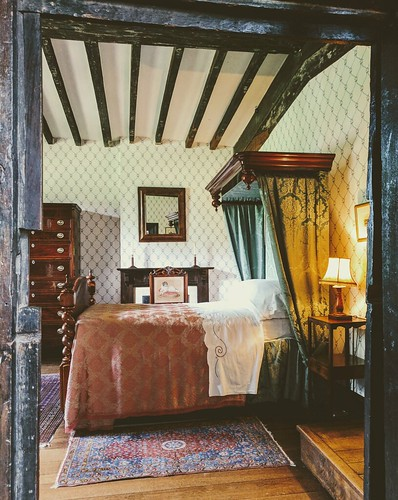 Bedroom, Ightham Mote (Explored)