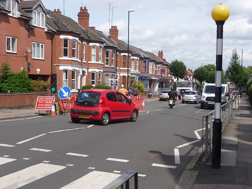 Road Works_Albany Road_Earlsdon_Coventry_Aug17