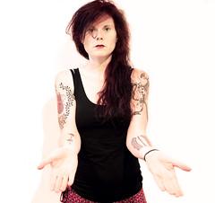 Stop Taking Photos of Your Tattoos! (kirstiecat (on vacation...)) Tags: self portrait tattoos tats vonnegut rilke woman female vegan vegetarian