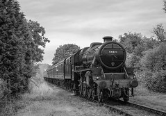 """Stanier On Test"" Stanier Black 5 44871 (Liam60009) Tags: eastlancashirerailway elr black5 stanier 44871 ianriley riley irwellvale irwell vale valley rossendale rossendalevalley steam steamlocomotive steamtrain steaming green 5mt 48 4871 br britishrailways black"