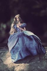 Soulbleed II (lichtspuren) Tags: barbie theraider judedeveraux barbiehybrid barbiemod madetomovebody bluedress blaueskleid melancholic melancholisch lichtspuren