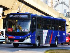 20.634 Auto Viação Urubupungá (busManíaCo) Tags: busmaníaco ônibus bus nikond3100 nikon d3100 osasco autoviaçãourubupungá caio apache vip iv mercedesbenz of1721 bluetec 5