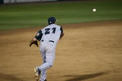 Tyler Stubblefield (joeldinda) Tags: midwestleague baseball lansinglugnuts bowlinggreenhotrods 1306 2011 august nikon d300 nikond300 michigan lansing ballpark ballyard onthisdate 228366