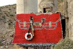Messenger for the New Gods (LookSharpImages) Tags: hermes thrashbird valleyofsecretvalues lime oregon limeoregon abandoned abandonedspaces