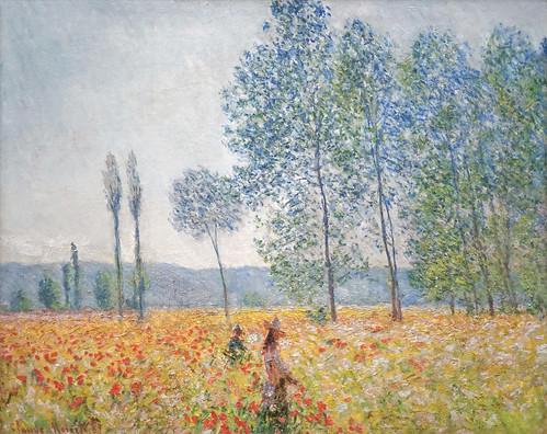 """""""Sous les Peupliers"""" de Claude Monet (Musée Barberini, Potsdam)"""