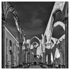 Igreja do Carmo (Sylvia Kahler) Tags: portugal lissabon lisboa lisbon igrejadocarmo conventodocarmo kirche ruine gotik