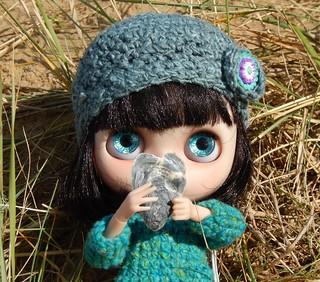 I LOVE finding seashells!