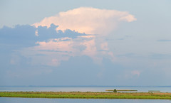 Storm Cloud Across Mobile Bay (S&L Smith) Tags: alabama mobilebay nikon d100 1685vr waterscape