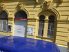 P1290345 (omirou56) Tags: 43ratio panasoniclumixdmctz40 yellow blue red colors architecture arch street δρομοσ κτιριο καμαρεσ κιτρινο μπλε κοκκινο χρωματα βιεννη vienna