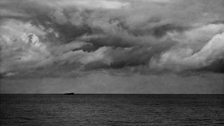 Calm seas and turbulent clouds
