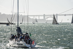 deception from the start (pbo31) Tags: sanfrancisco california nikon d810 color september 2017 summer goldengatenationalrecreationarea blue bay boury pbo31 sail rolex bigboatseries fortmason pier2 herbstpavillion race yacht harbor water sport teams marine sailing event annual 53rd goldengatebridge 101 bridge team crew group sunset westcoast