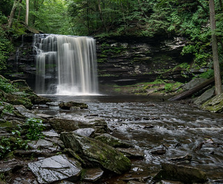 Harrison Wright Falls in Ricketts Glen