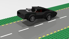 Dodge Charger R/T 1969 (The fast and furious) (Zilmrud) Tags: lego moc speed champions dodge charger rt 900hk afol fast furious