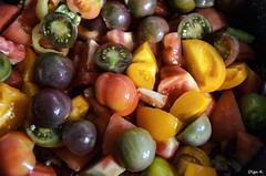 Cherry tomatoes (Olga K.131313) Tags: tomato pepper coriander salt spice chilli fennel ketchup macro foof ingridients помидоры фенхель кетчуп домашний черри чили перец соль кориандр лук ингридиенты макро onion калина виноград айва малина смородина