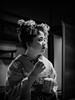 The Little Sake Jar (Rekishi no Tabi) Tags: mamekinu gion gionkobu maiko apprenticegeiko apprenticegeisha geiko kyoto leica japan monochrome