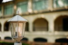 Light (superzookeeper) Tags: eos1 analog film hk hongkong tst tsimshatsui kowloonpark lamp canoneos1 ef2470mmf28liiusm park eos fujicolor industrial100 fujicolorindustrial100
