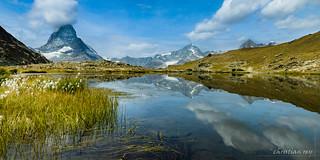 Le Cervin / Matterhorn from Riffelsee (Switzerland)