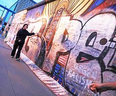 Berlin Against Racism (kirstiecat (on vacation...)) Tags: gegenracism againstracism politics theberlinwall berlin germany sadness art streetart mural picha woman street canon stranger beautifulstranger female deutschland resist impeachtrump
