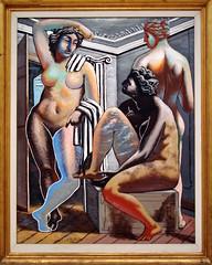 The Eventuality of Destiny - Giorgio de Chirico (alplatt) Tags: nudes artinstitute chicago artinstituteofchicago chicagoartinstitute art institute framed museum