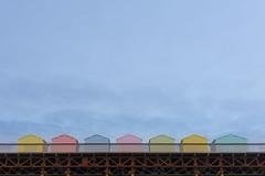 Beach Huts On A Pier