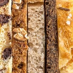 Bread: Give Me Five! (Silke Klimesch) Tags: macromonday bread hmm mm macro closeup texture brot pain pan pão pane brød leipä bröd brauð chleb pâine ψωμί kenyér ekmek хлеб 面包 makrofotografie nahaufnahme olympus omd em5 mzuikodigitaled60mm128macro microfourthirds 11 squareformat