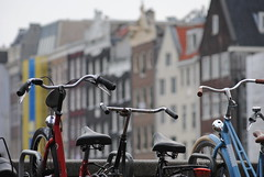 I Amsterdam (borneirana) Tags: amsterdam viajes viajar viaxar travel travelling paisaje fotos photo photography nationalgeographic ngc bike bicicleta fahrrad verde amarillo green yellow blue azul verano summer sommer street