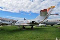 86 / CG Dassault Falcon 20C @ Musée Européen de l'Aviation de Chasse 15th June 2016 (_Illusion450_) Tags: aérodromedancone montélimar muséeeuropéendelaviationdechasse 150616 museum lflq xmk aeroplane aviation avion aircraft airplane flugplatz 86 cg dassault falcon 20c
