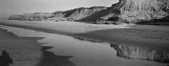 Darnley Beach #8 (LowerDarnley) Tags: anscopixpanorama 35mm panoramic plasticcamera lowerdarnley pei princeedwardisland darnleybeach dunes ocean beach selfshadow