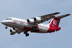N472NA (sabian404) Tags: n472na neptune aviation services bae 146 british aerospace rj85 cn e2138 tanker 10 t10 fire roberts filed redmond airport rdm krdm