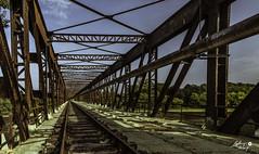 Cyclorail de Cosne (touflou) Tags: pont bridge cosnesurloire nievre loire fleuve rivière river railway