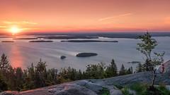 Inspiration for the soul (Teemu Kustila Photography) Tags: ukkokoli landscape scenery view hill lake beautiful sunrise panorama ilobsterit