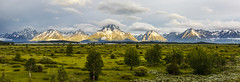 Grand Teton National park (KJRphotoz) Tags: grandtetonnationalpark panoramic pano panorama tetons tetonnationalpark canon mountains nature landscape usnationalparks outdoor sky wyoming clouds serene