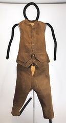 Corduroy Britches and Vest (Madison Historical Society (CT-USA)) Tags: madisonhistoricalsociety madisonhistory mhs madison connecticut conn ct country usa newengland nikond600 nikon d600 bobgundersen old historical history museum antiques allisbushnellhouse abhouse route1 bostonpostroad costume clothing interesting image inside indoor photo picture shot 2485mmf3545g