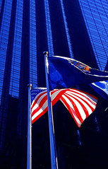 Trump Tower NYC (gerard eder) Tags: world travel reise viajes america northamerica usa unitedstates newyork city ciudades cityscape cityview städte stadtlandschaft skycraper skyline rascacielos outdoor midtownmanhattan 5thavenue manhattan trumptower flag