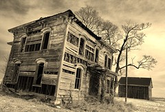 the pain you endure will consume you.... (BillsExplorations) Tags: abandoned abandonedillinois abandonedhouse abandonedfarm old vintage grace elegance craftsmanship forgotten decay ruraldecay ruraldeterioration farm barn farmhouse shuttered sepia oncewashome pain consume