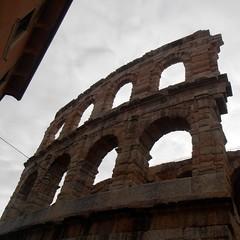 Ruins (Navi-Gator) Tags: arcs ruins verona architecture square