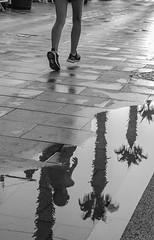 CARBONERAS Street. Urban Reflections (Pedro Ruiz L) Tags: streetphotography fotocallejera plaza reflejos urbana gente carboneras zaragoza colliure vida life turist
